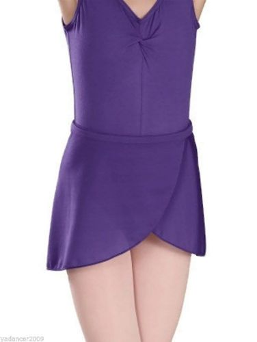 1st Position Dance Wrapover Style SKIRT ISTD Exam Regulation Uniform Purple
